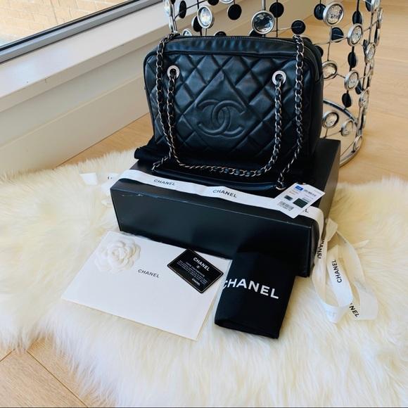 6733b3d9fc79 CHANEL Bags   Full Set 2017 Ballerine Camera Bag Authentic   Poshmark